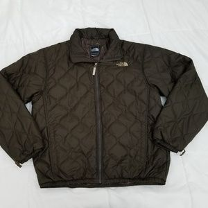 The North Face Puffer Jacket Mens Large Brown